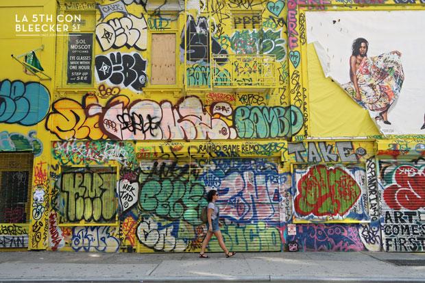 Barrios de Manhattan lower east side