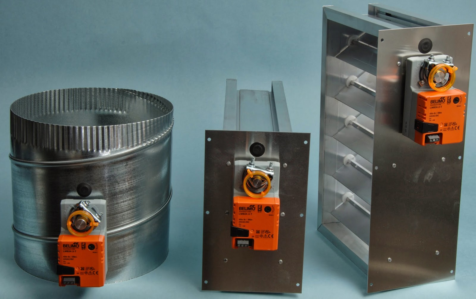 medium resolution of try out the tower equipment zone damper we throw a 24v 3 wire belimo lmb24 3 t floating actuator on