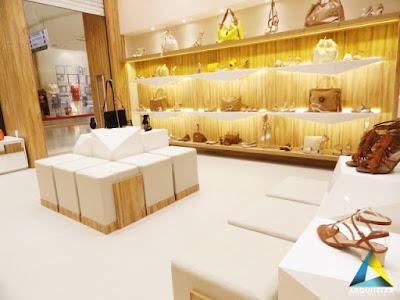 projeto arquitetura loja calçados femininos layout interno
