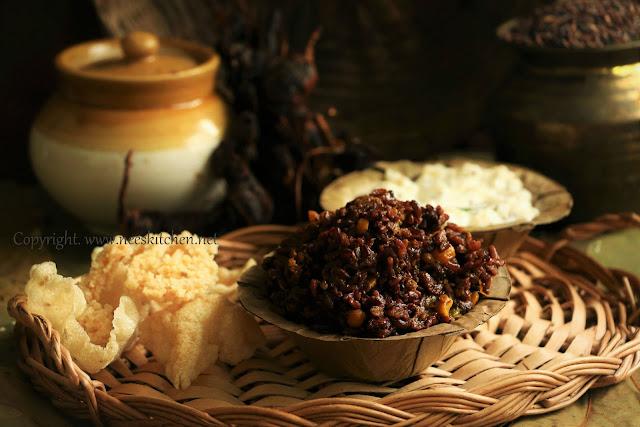 Black Rice Pulihora