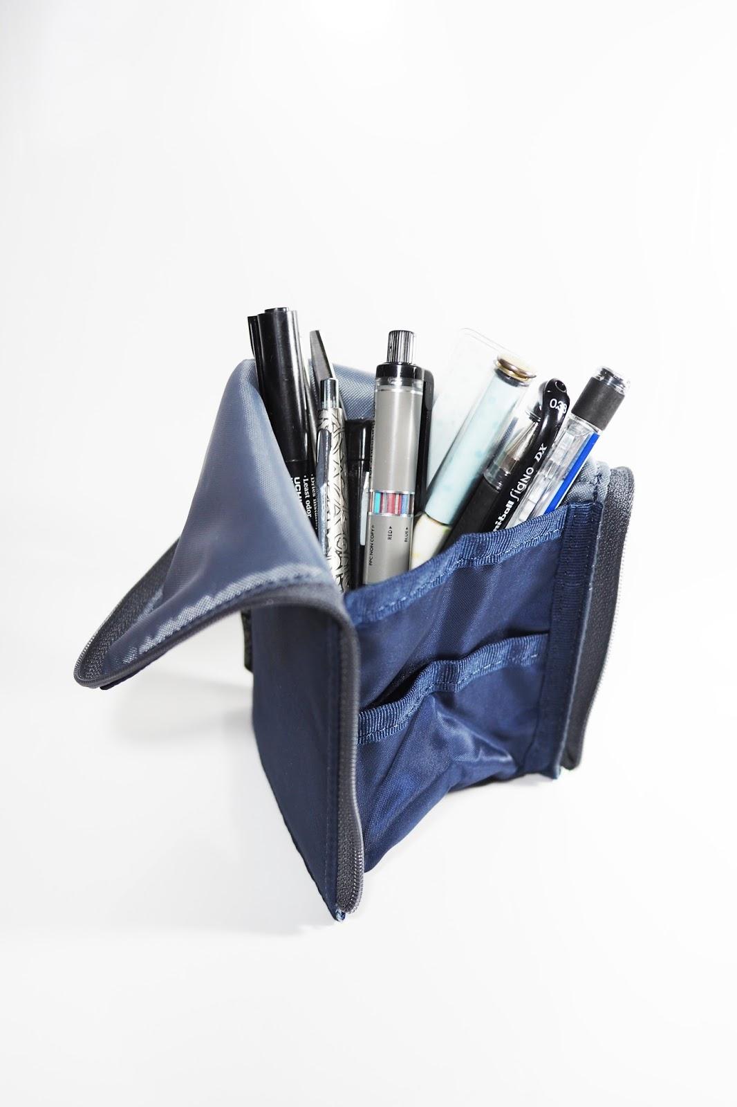 [文具病] KOKUYO NeoCritz Flat 站立式筆袋(薄型) - 宅女有三單