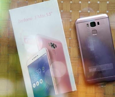 Asus ZenFone 3 Max Pink