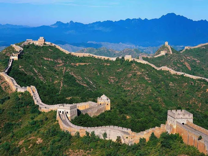 The Great Chinese Wall in China