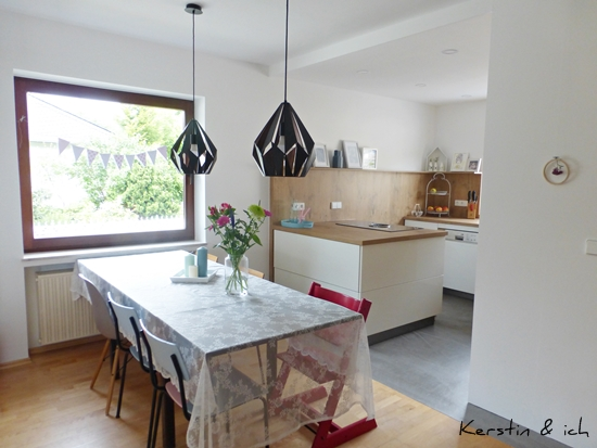 Küche Vorher Nachher Offene Küche Hochglanz Weiß