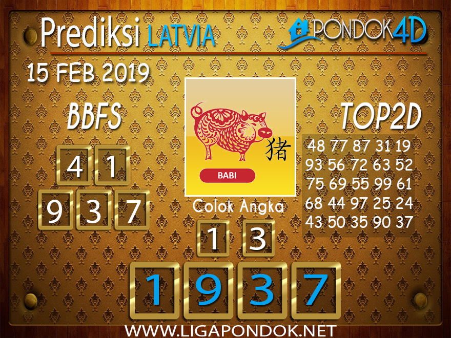 Prediksi Togel LATVIA PONDOK4D 15 FEBRUARI 2019