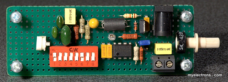 The Sawtooth Wave Generating Circuit Of 555 555circuit Circuit