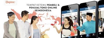 shopious tempat bertemunya penjual dan pembeli online di Indonesia
