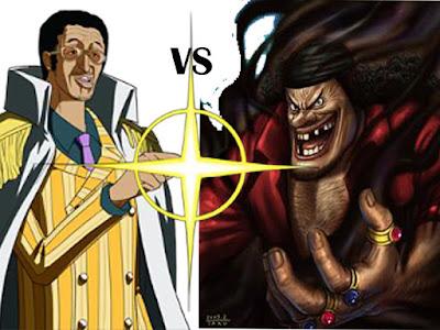 Kizaru vs Kurohige