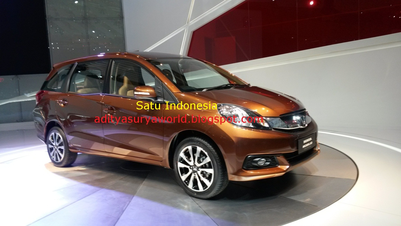 Honda Mobilio Concept At IIMS 2013 ~ Black and Silver