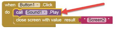 Membuat Sound Pada Klik Button - MIT App Investor 2 (AI2)