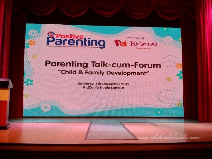 Forum Postive Parenting Di KidZania