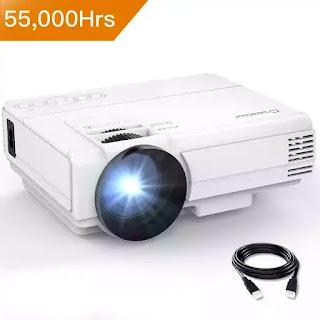 Mini projetor LED 2000 lumens