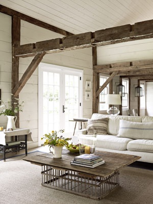 Country Living Or Maybe A Little Yellow Pale Cream Colored Walls White Trim