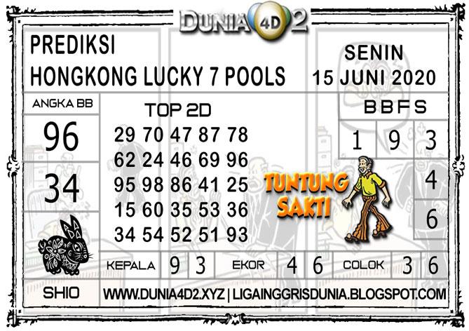 Prediksi Togel HONGKONG LUCKY7 DUNIA4D2 15 JUNI 2020