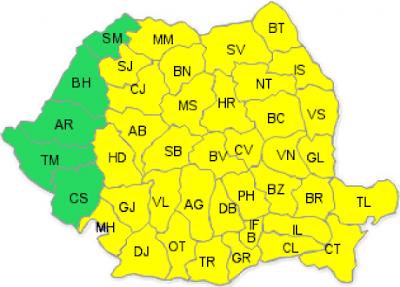 fagyriadó, Románia, extrém hideg, időjárás, tél,