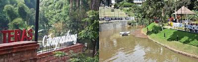 Wisata Gratis di Kolam Teras Cikapundung Bandung
