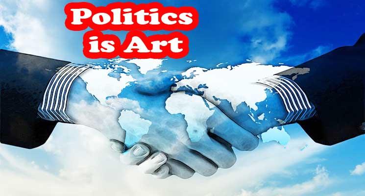 Politics is Art : Seni Membuat Masyarakat Bahagia