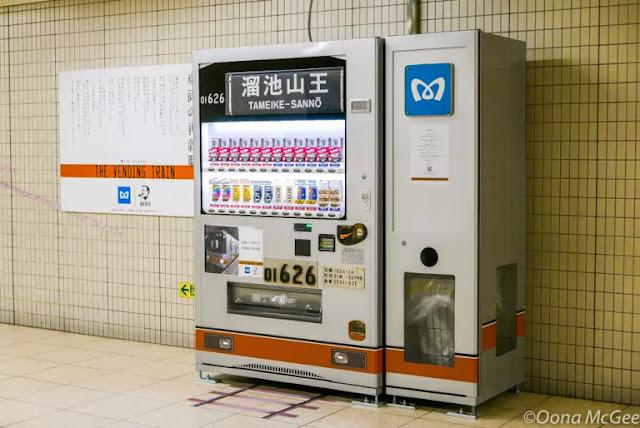 The Vending Train mesin pembeli otomatis dari jepang