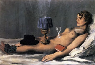 Рене Магритт. Лежащая обнаженная. 1928