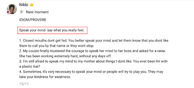 Arti Speak Your Mind