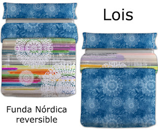 Funda nórdica reversible Lois