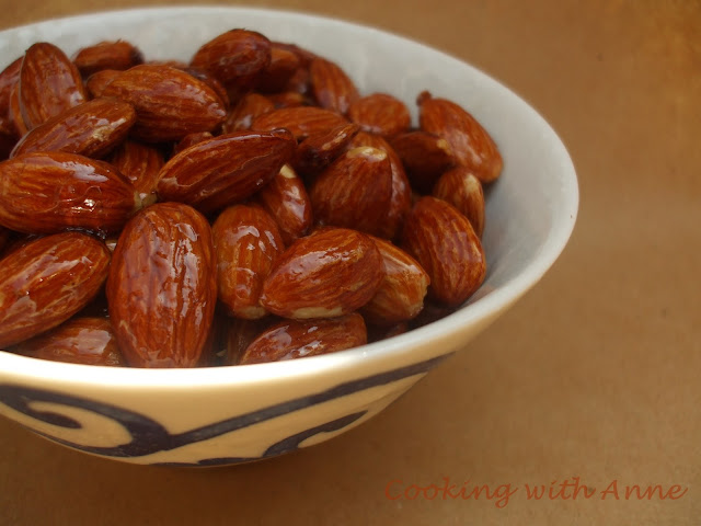 Maple Glazed Nuts