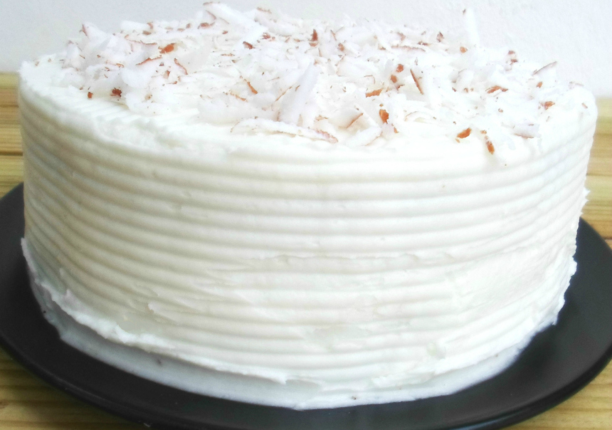 Coconut Cake From Scratch - Summer Daisy Cottage