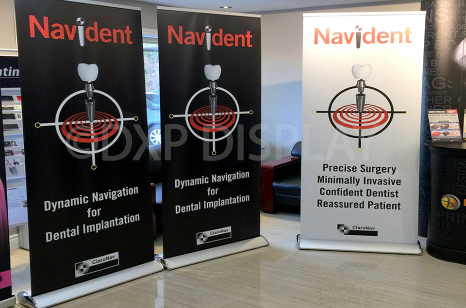 """Creating Brand Awareness"" with Banner Stands"