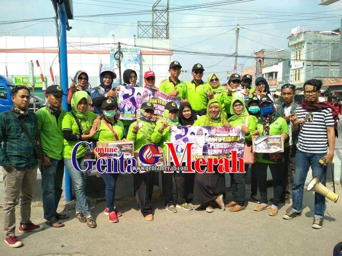 PJLT Gaet LTB dan PMII Galang Donasi Korban Gempa Lombok-Bali