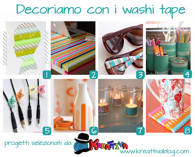 idee creative con washi-tape