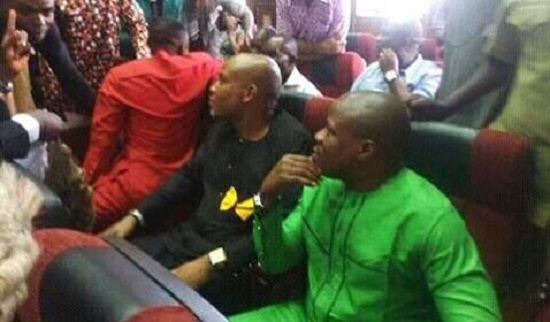 How Nnamdi Kanu Stormed Federal High Court Today Nov. 17