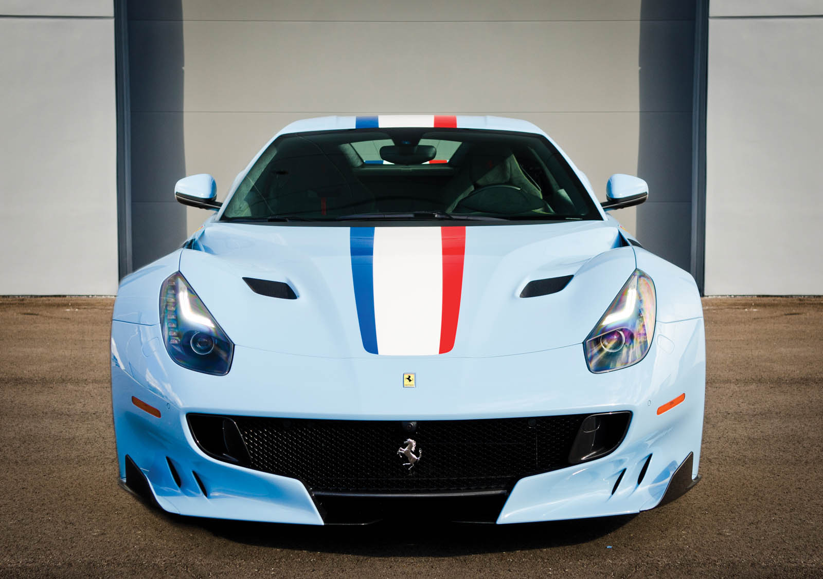 This Ferrari F12 Takes The Whole 'Tour De France' Thing ...