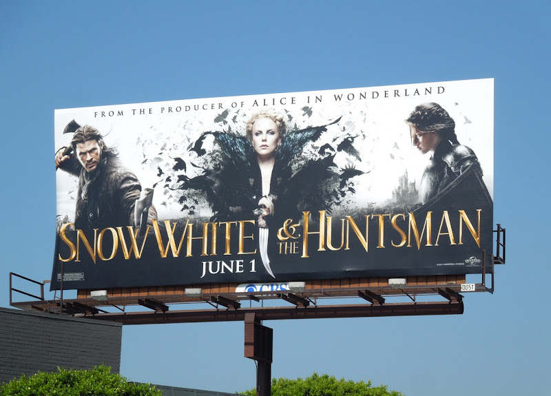 Snow White Huntsman billboard