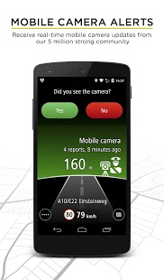 Source: Android Play website. Screen capture of the TomTom Speed Cameras app.