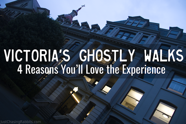 Victoria's Ghostly Walks: 4 Reasons You'll Love the Experience!