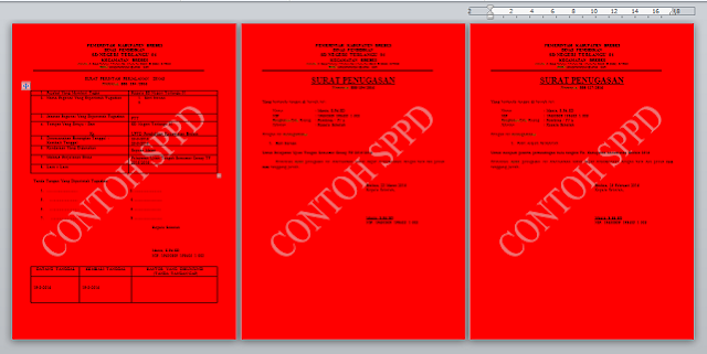 Download Aplikasi Cetak SPPD (Surat Perintah Perjalanan Dinas)