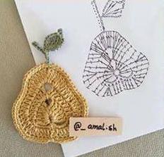 Patrón #1804: Figuras a Crochet -C