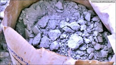 cimento empedrado