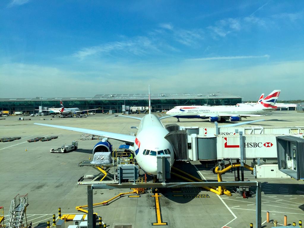 British Airways B777-200ER at London-Heathrow Airport (LHR) Terminal 5