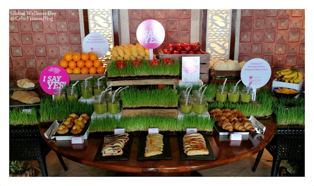 Some Healthy Options at the Cowrie Cove of Shangri-la Mactan Resort and Spa Cebu