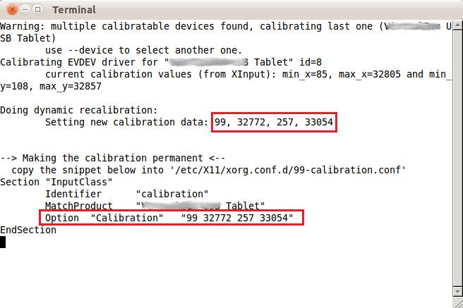Calibrate Your Tablet Touchscreen On Ubuntu 11 04