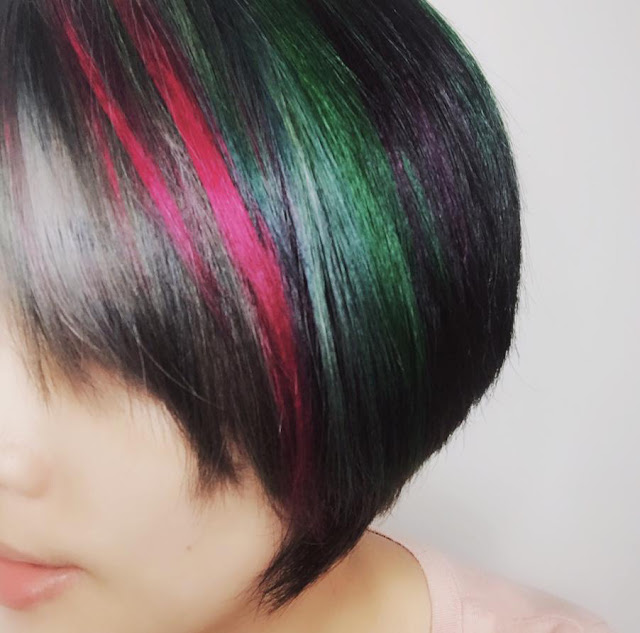 7 Hair Dye Colours with SL inc