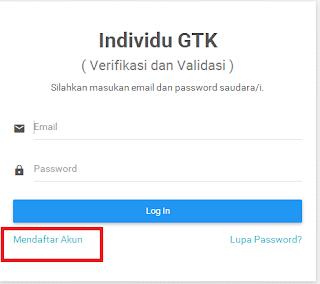Sistem Verifikasi dan Validasi Individu GTK