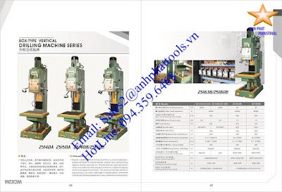 Máy Khoan Bàn Đứng Cao Cấp Thương Hiệu WDDM 750w - 7.5kw
