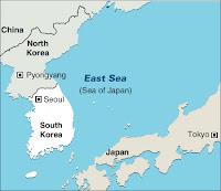 east sea korea japan