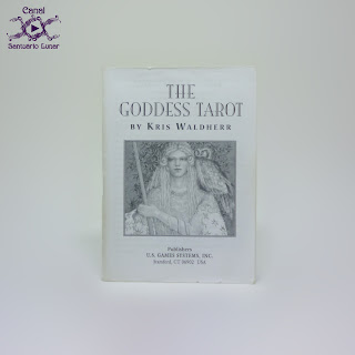 The Goddess Tarot (US Games System) - Booklet (Font)