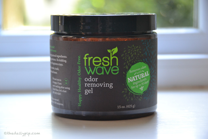 Fresh Wave removes odors naturally