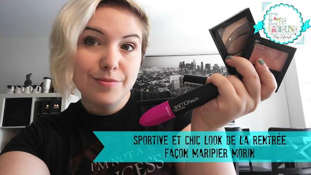 #RevlonCanada - Sportive et Chic look de la rentrée façon Maripier Morin