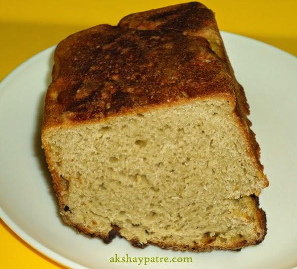 half wheat flour honey bread