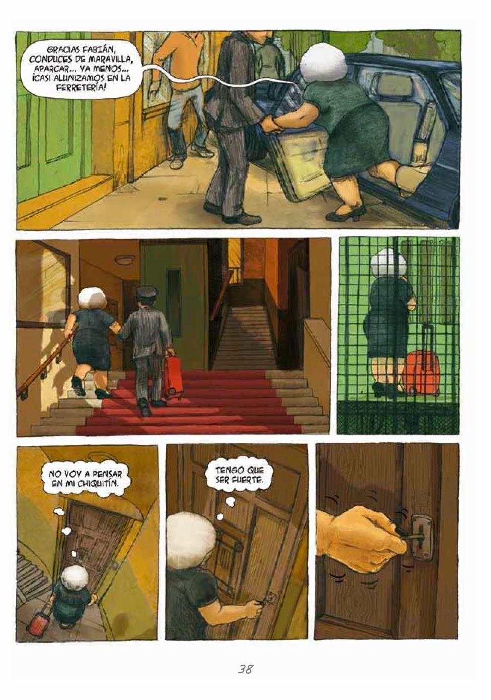 Recuerdos de Perrito de Mierda # 38 by Marta Alonso Berna, Dibbuks, March, 2014